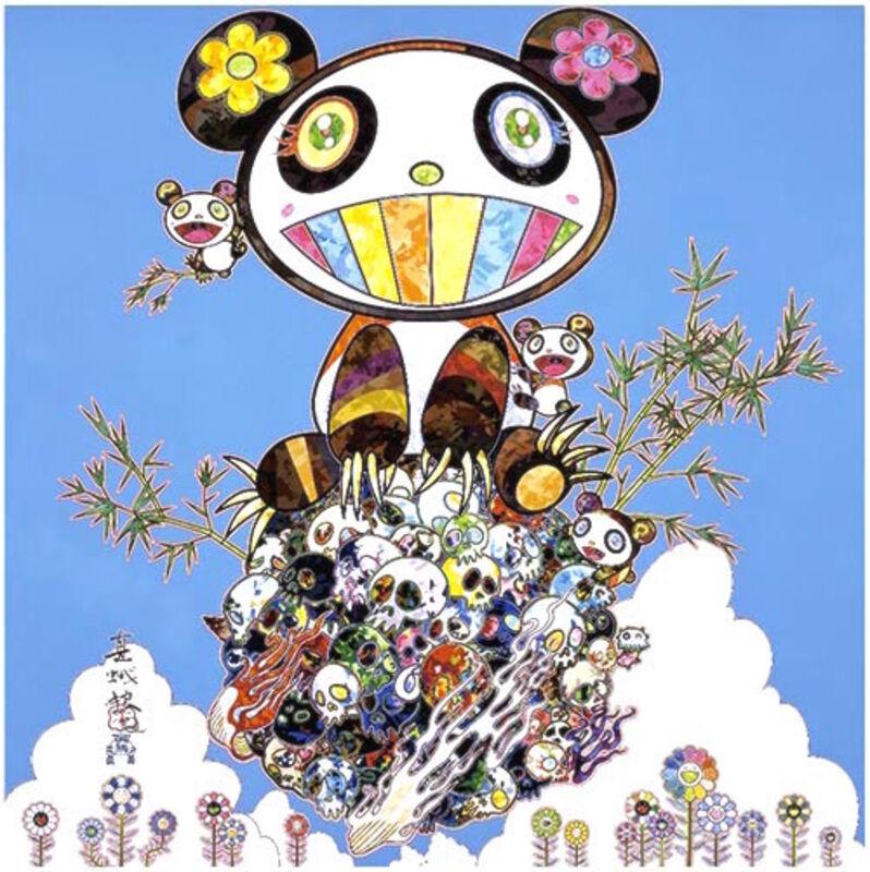 Takashi Murakami, 'Panda Family - Happiness', 2016, Print, Offset, Dope! Gallery