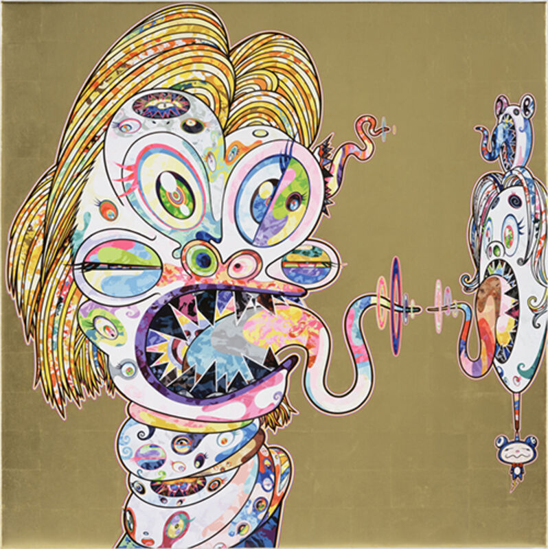 Takashi Murakami, 'Homage to Francis Bacon, Study for Head of Isabel Rawsthorne', 2016, Print, Offset lithograph, Vogtle Contemporary