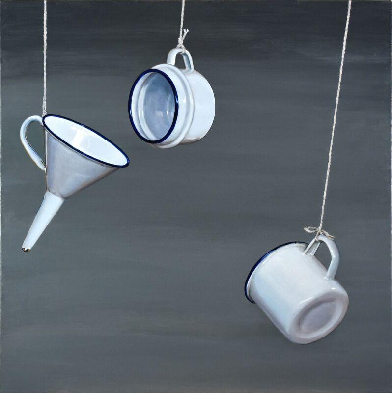 Cynthia Poole, 'Metafisica IV', Painting, Acrylic on canvas, Plus One Gallery