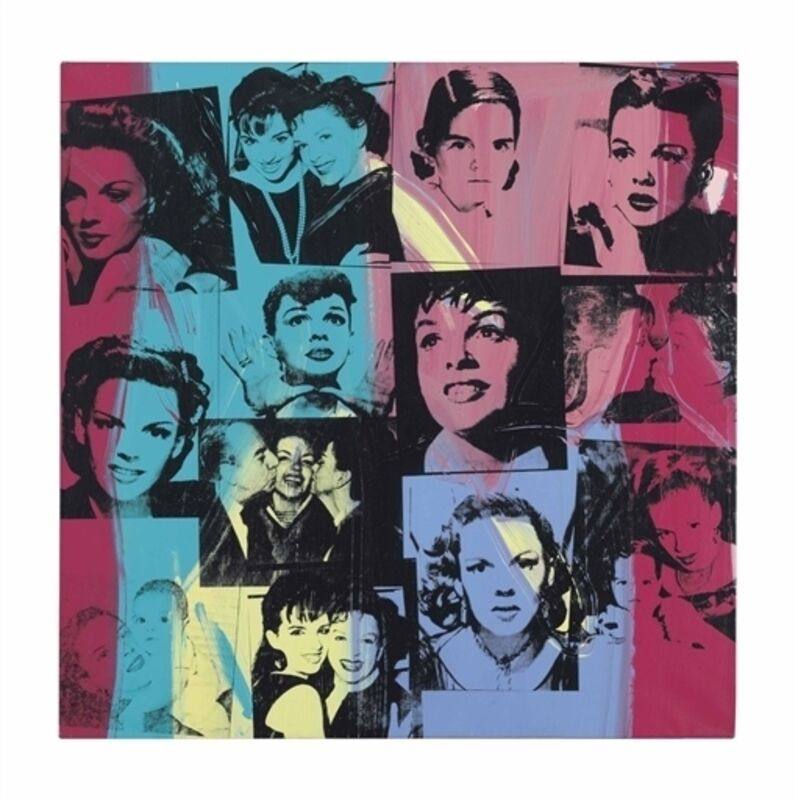 Andy Warhol, 'Judy Garland and Liza Minnelli', Synthetic polymer and silkscreen inks on canvas, Christie's