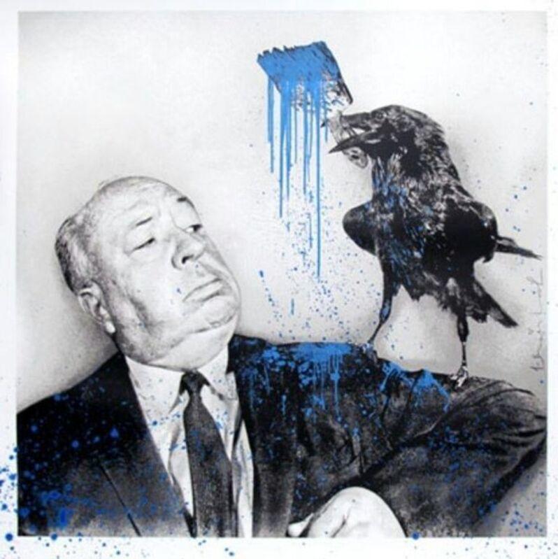 Mr. Brainwash, 'iHitchcock', 2017, Print, Original screen-print hand-finished with acrylic, Samhart Gallery