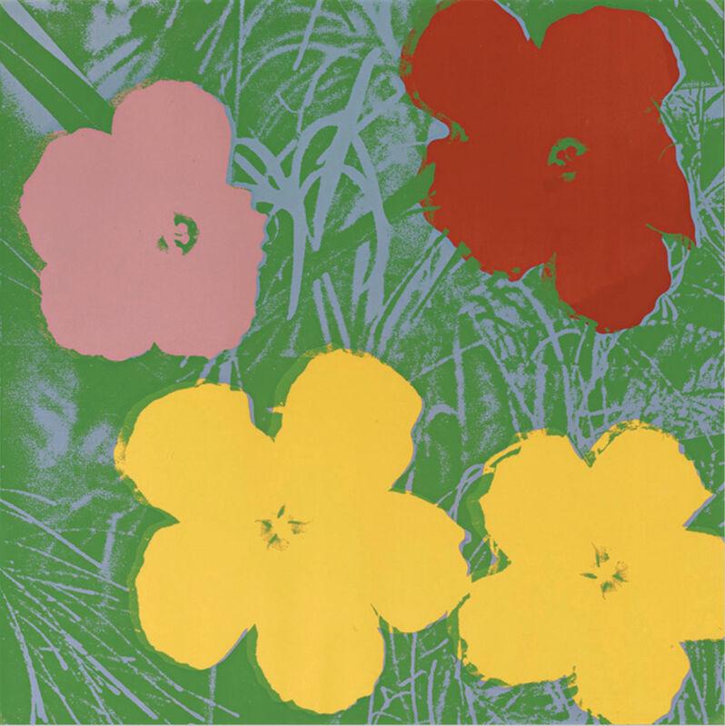 Andy Warhol, 'Flowers 65', 1970, Print, Screenprint in colours on Lenox museum board, Lush Art Agency