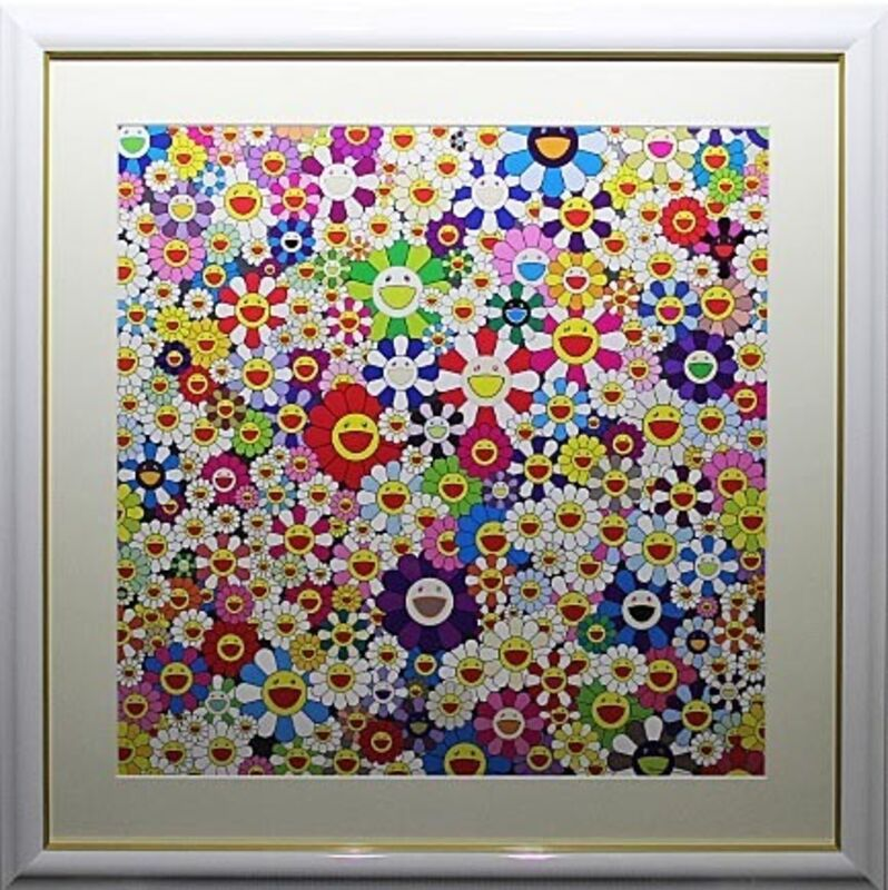 Takashi Murakami, 'If I Could Reach That Field Of Flowers, I Would Die Happy', 2010, Print, Offset lithograph in colors on smooth wove paper, EHC Fine Art
