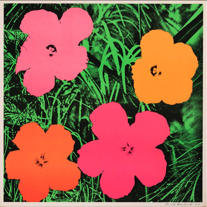 Andy Warhol, 'Flowers (FS II.6)', 1964, Print, Offset Lithograph on Paper, Revolver Gallery