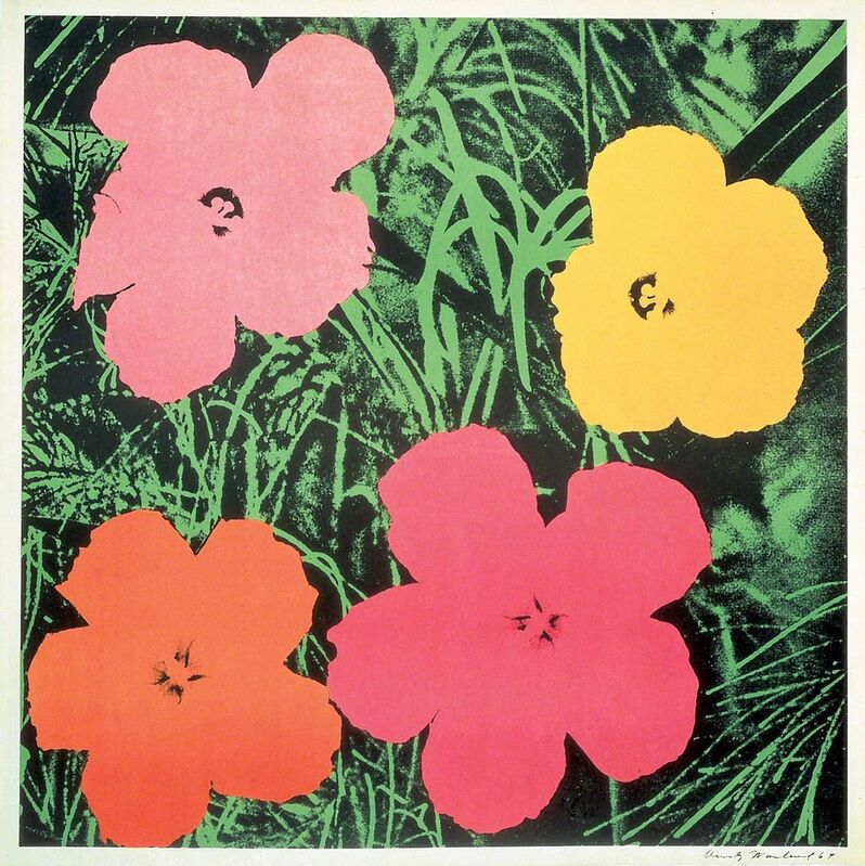 Andy Warhol, 'Flowers 1964', 1964, Print, Offsetlithograph, Frank Fluegel Gallery
