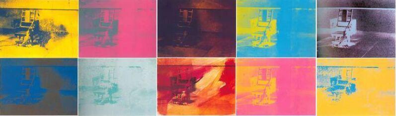 Andy Warhol, 'Electric Chair', 1971, Print, Screenprint in colors, David Benrimon Fine Art