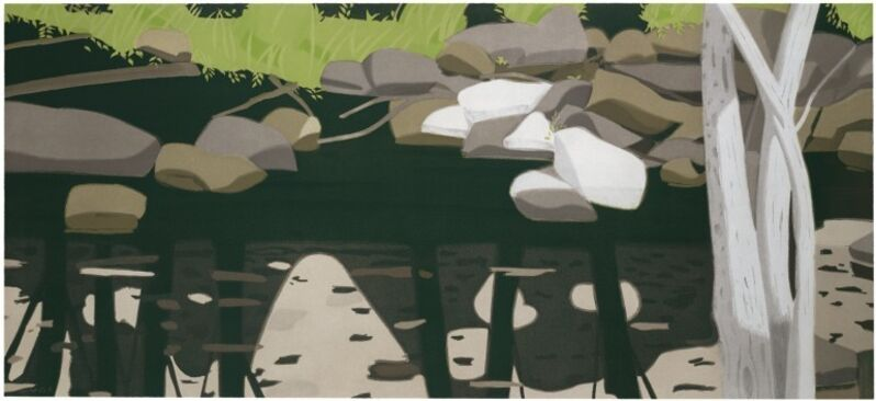 Alex Katz, 'Black Brook', 1992, Print, Etching and aquatint, Marlborough New York