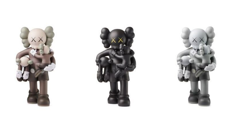KAWS, 'Clean Slate (Set of Three)', 2018, Sculpture, Painted Cast Vinyl, Lougher Contemporary
