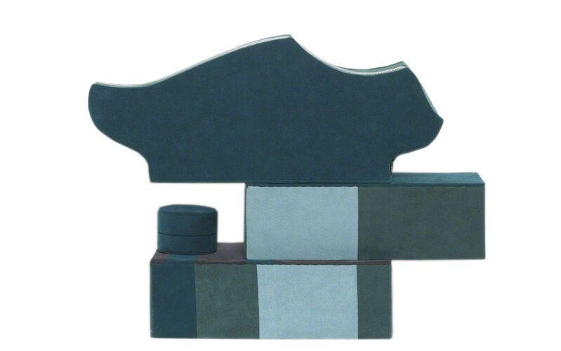 Steven and William Ladd, 'Water Tower', 2003, Sculpture, Fiber, archival board, glass beads, thread, metal., Mingei International Museum