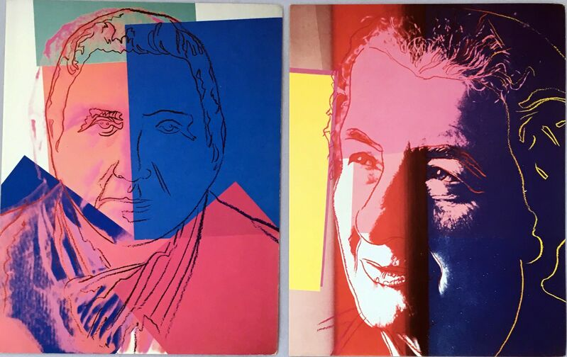 Andy Warhol, 'Andy Warhol Ten Portraits of Jews of the 20th Century (set of  ten 1980 cards)', 1980, Ephemera or Merchandise, Offset lithograph on wove cards, Lot 180