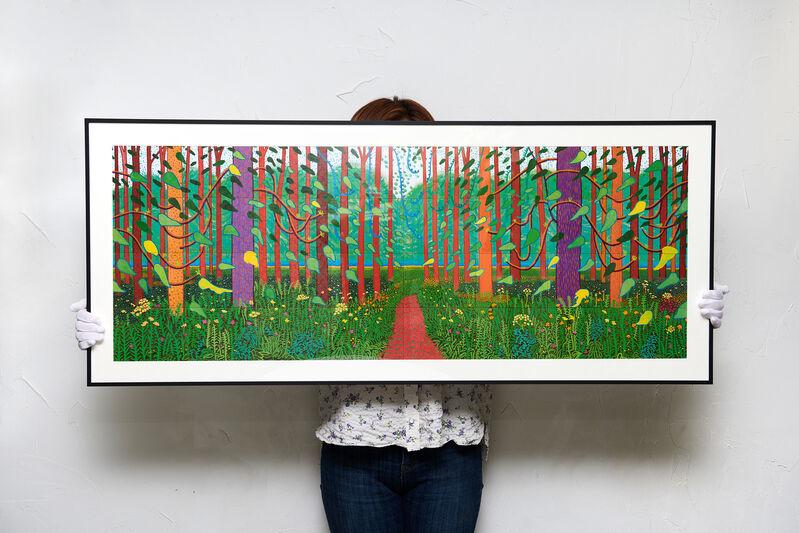 David Hockney, 'Arrival Of Spring', 2019, Print, Offset Print on Art paper, Artree