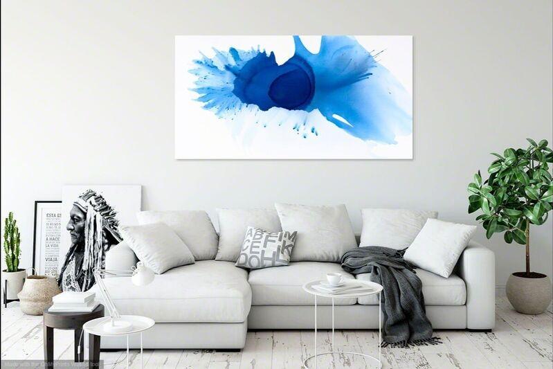 Clara Berta, 'Heart of Blue', 2019, Painting, Acrylic on Canvas, Ethos Contemporary Art