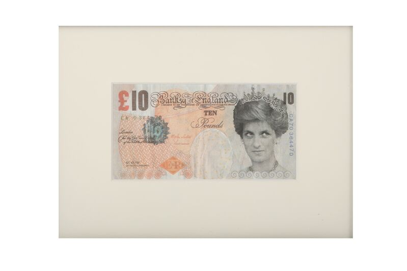 Banksy, 'Di-faced tenner', Print, Offset lithograph, Chiswick Auctions