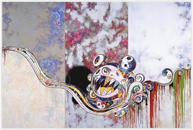 Takashi Murakami, '727 x 777', 2016, Print, Offset lithograph on paper, Hang-Up Gallery