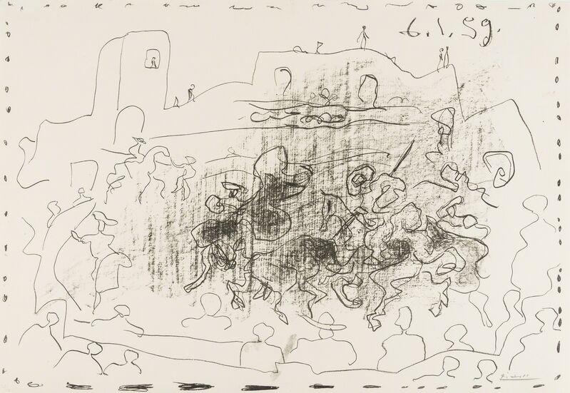 Pablo Picasso, 'La Pique (Bloch 868)', 1959, Print, Lithograph, Forum Auctions