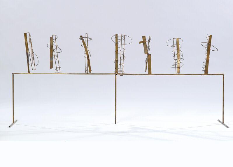 Fausto Melotti, 'Tema e Variazioni XI', 1981, Sculpture, Brass, Barbara Mathes Gallery