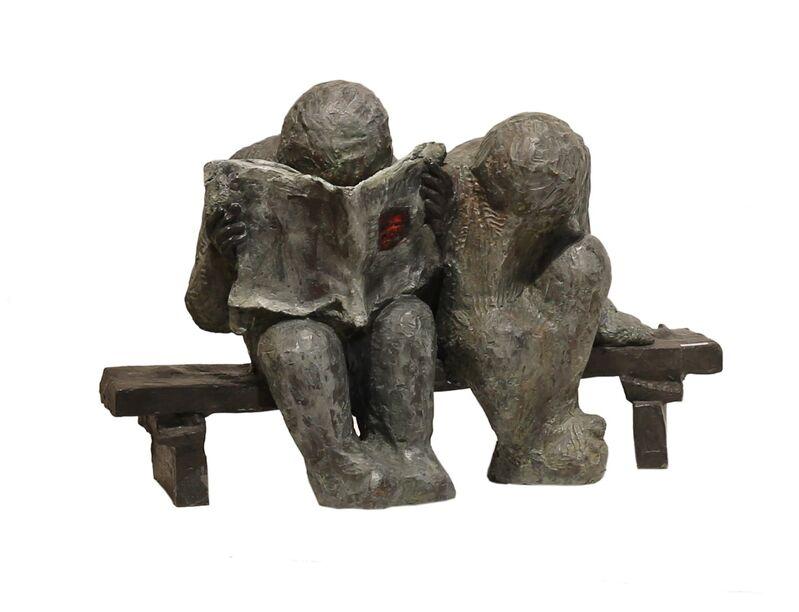Arun Pandit, 'The News', 2011-2013, Sculpture, Bronze, Art Heritage