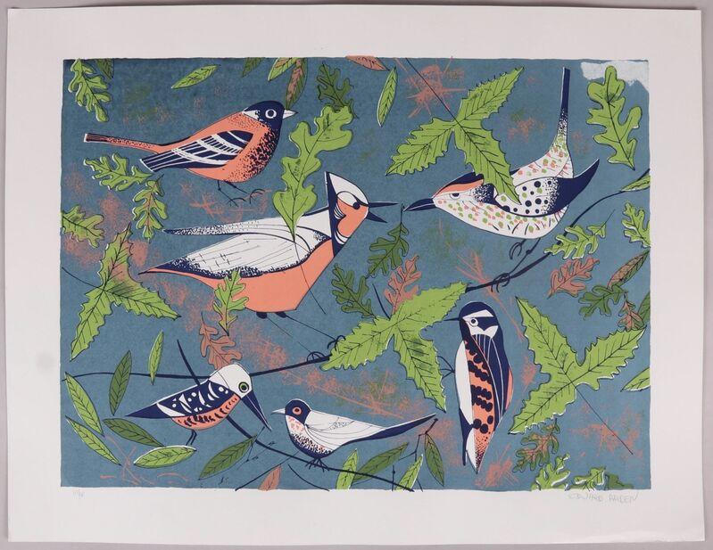 Edward Arden, 'Birds', 1960, Print, Silkscreen, Puccio Fine Art