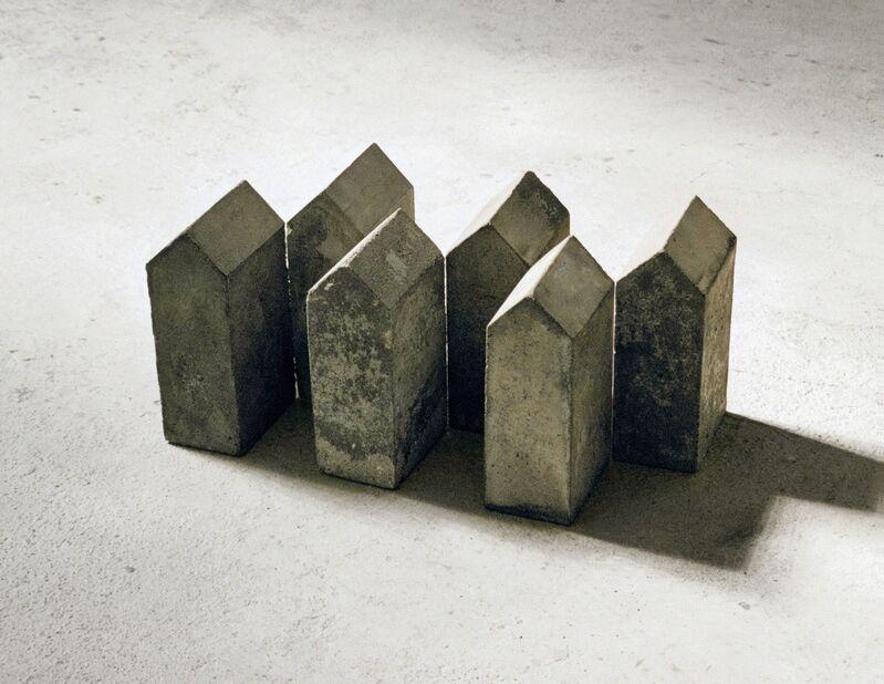 Hubert Kiecol, 'Sechs Aneinandergereihte (six aligned)', 1982, Sculpture, Concrete, Häusler Contemporary