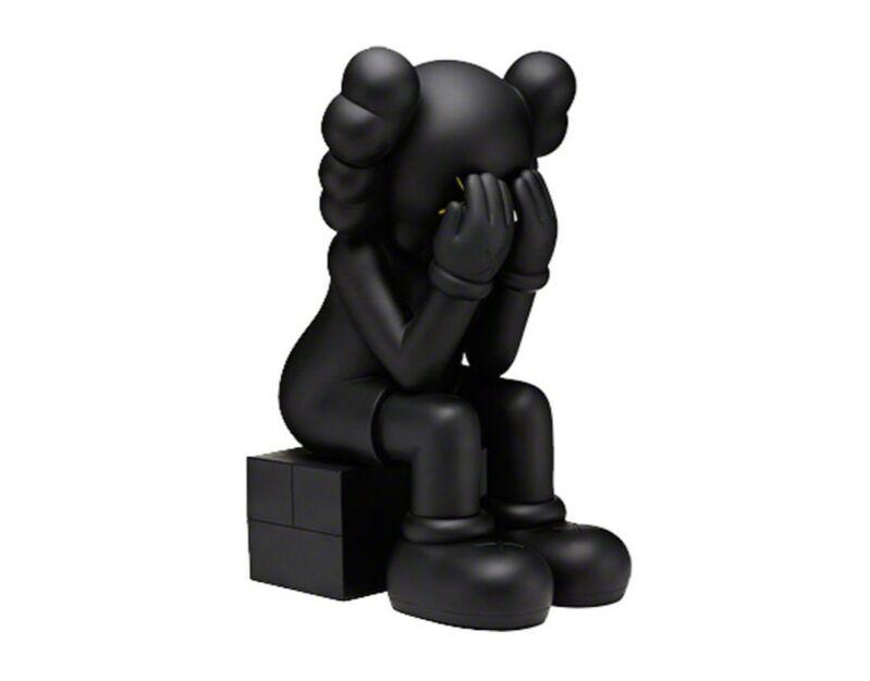 KAWS, 'Passing Through (black)', 2013, Sculpture, Cast vinyl, Galerie C.O.A