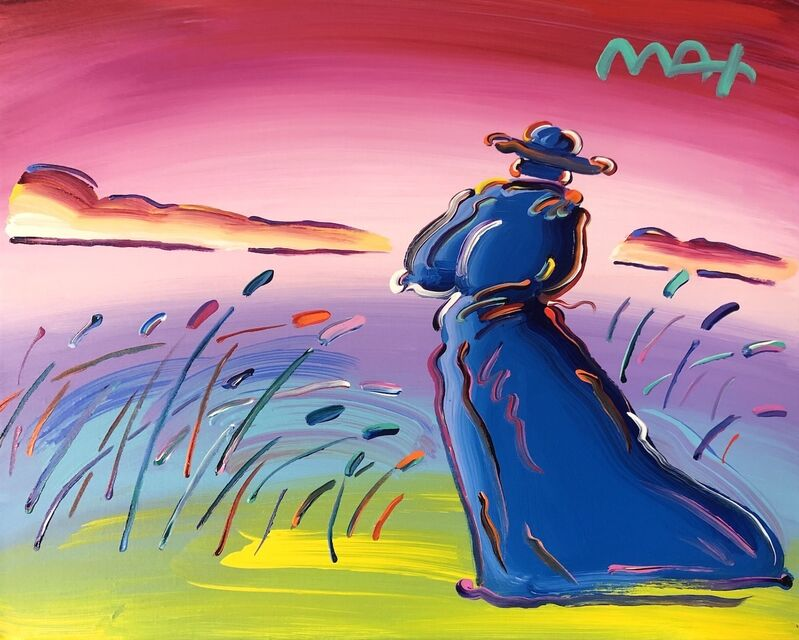 Peter Max, 'Walking in Reeds', 2018, Painting, Acrylic on canvas, Off The Wall Gallery