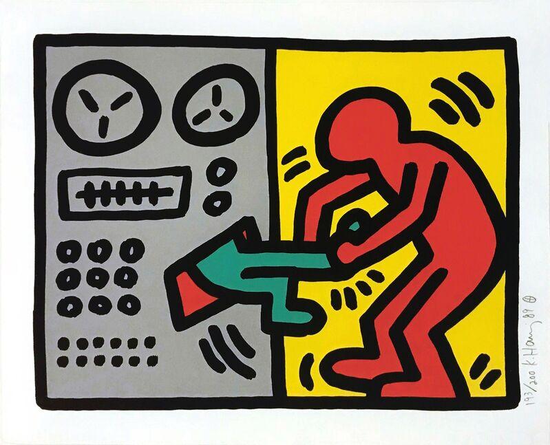 Keith Haring, 'POP SHOP III (1)', 1989, Print, SCREENPRINT, Gallery Art