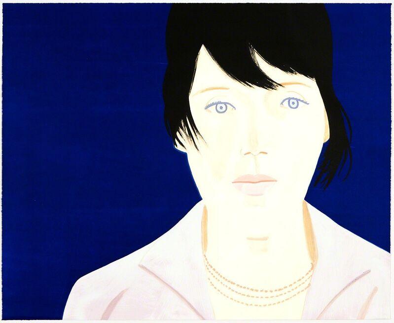 Alex Katz, 'Kym', 2011, Print, Lithograph/screenprint/woodcut, Graphicstudio USF