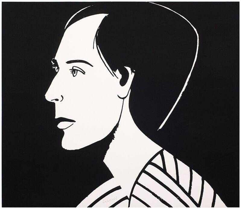 Alex Katz, 'Meghan', 2013, Print, Photoengraving and aquatint on Somerset satin white 300 gsm paper, Haw Contemporary