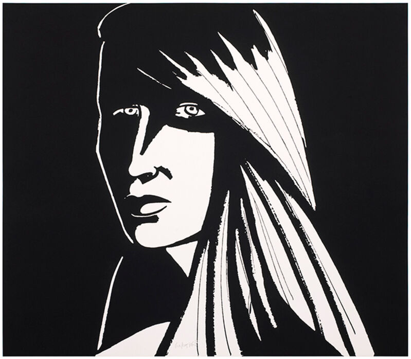 Alex Katz, 'Elizabeth I', 2013, Print, Photoengraving and aquatint on Somerset satin white 300 gsm paper, Haw Contemporary
