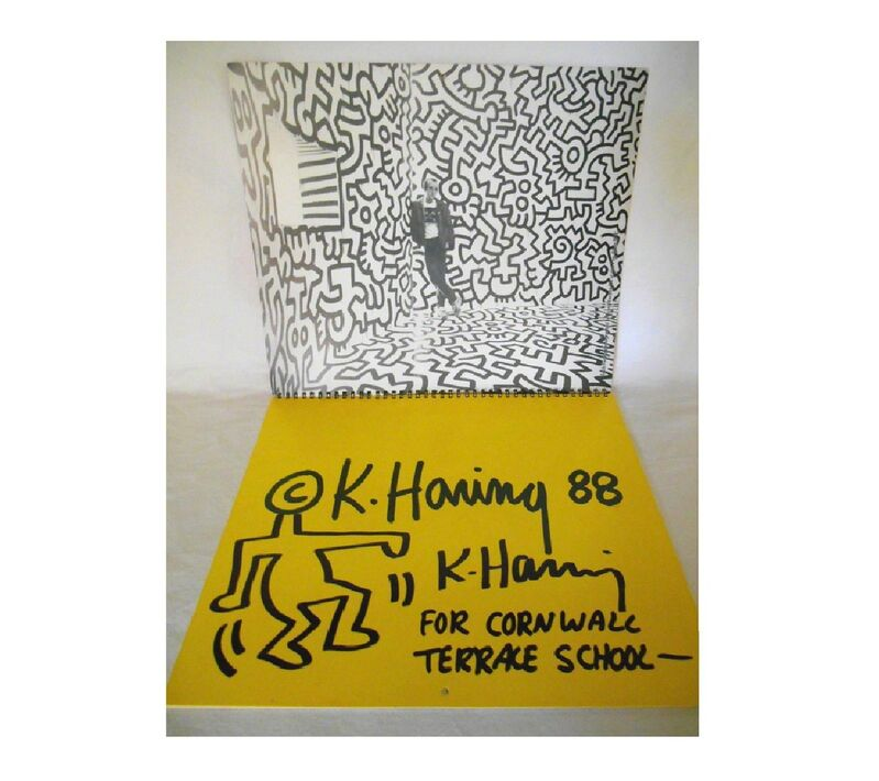 Keith Haring, '2-ITEMS, 1988 SIGNED/ DRAWING CALENDAR', 1988, Mixed Media, Calendar, VINCE fine arts/ephemera