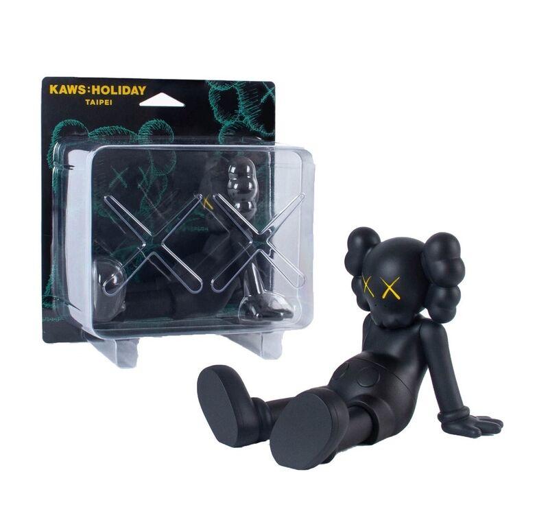 "KAWS, 'Holiday Limited 7"" Vinyl Figure Black', 2019, Sculpture, Painted Vinyl, ArtLife Gallery"