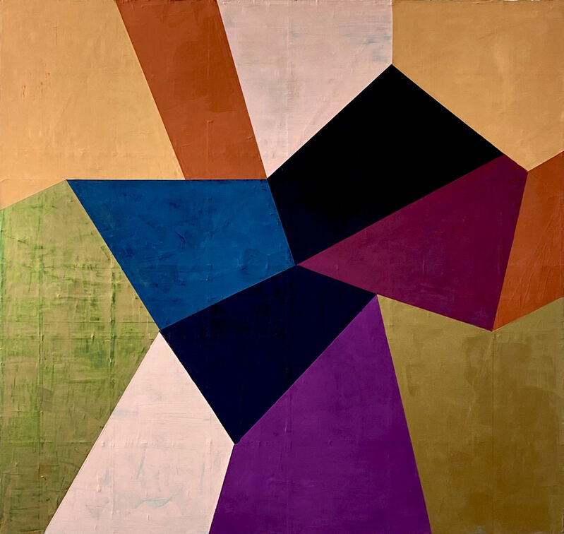 Gudrun Mertes-Frady, 'Passion Flower', 2020, Painting, Oil on canvas, Kathryn Markel Fine Arts
