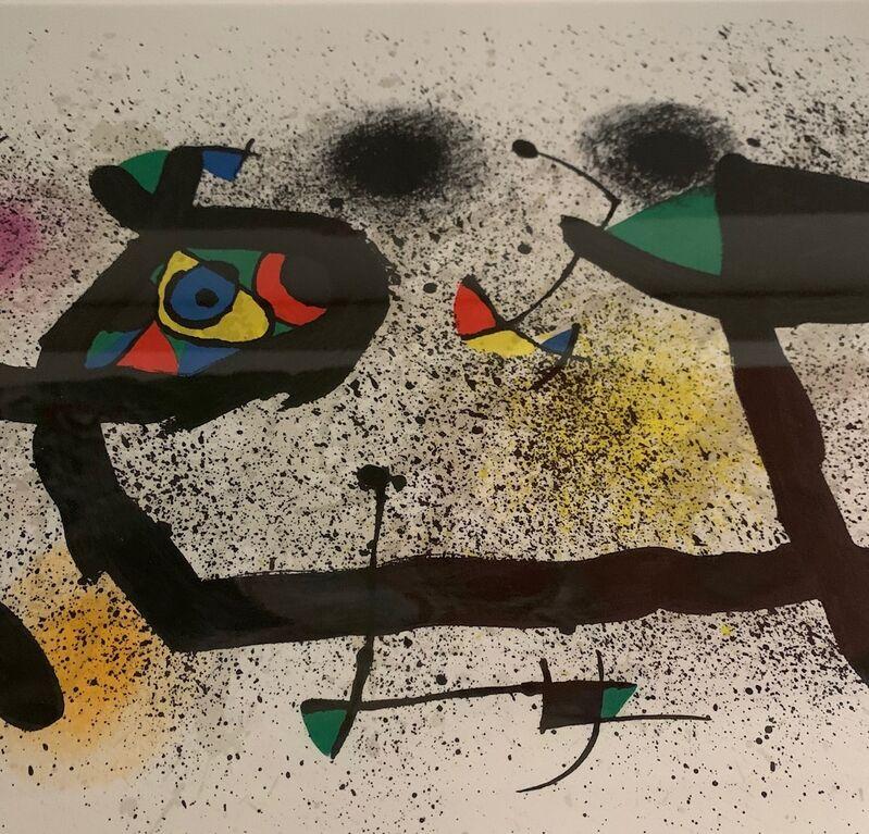 Joan Miró, 'Sculptures I (M. 950)', 1974, Print, Lithograph, Leviton Fine Art