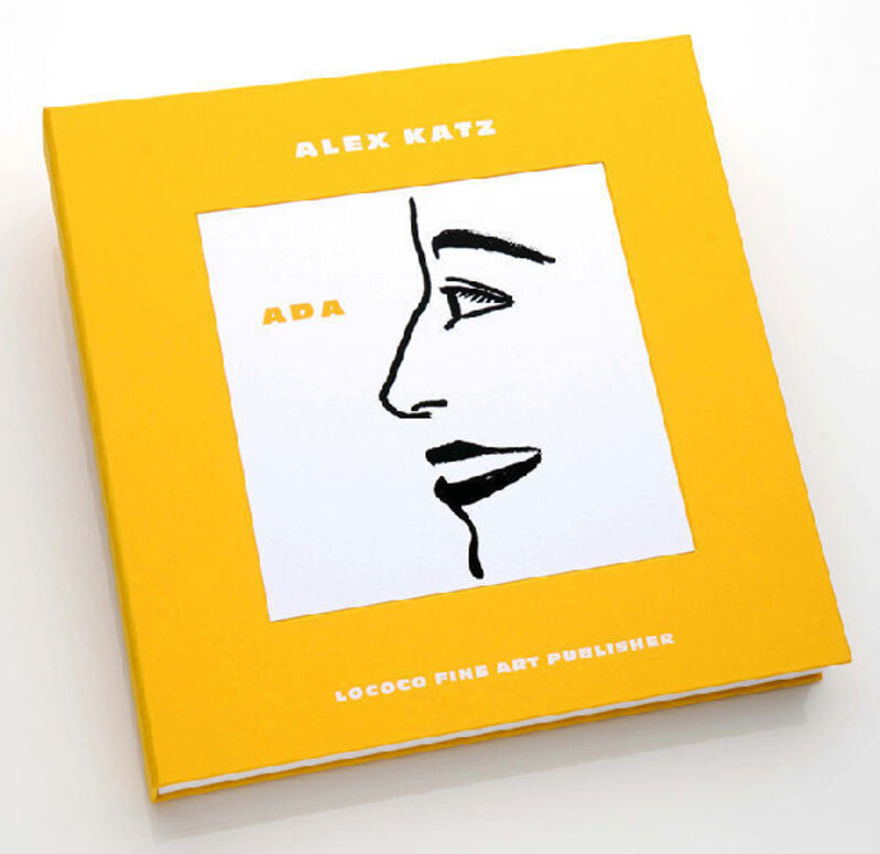 Alex Katz, 'Ada Luxe Book', 2019, Print, Ten one-color etchings on Somerset White 250 gsm, drum leaf book bound with letterpress and hot foil stamping, Haw Contemporary