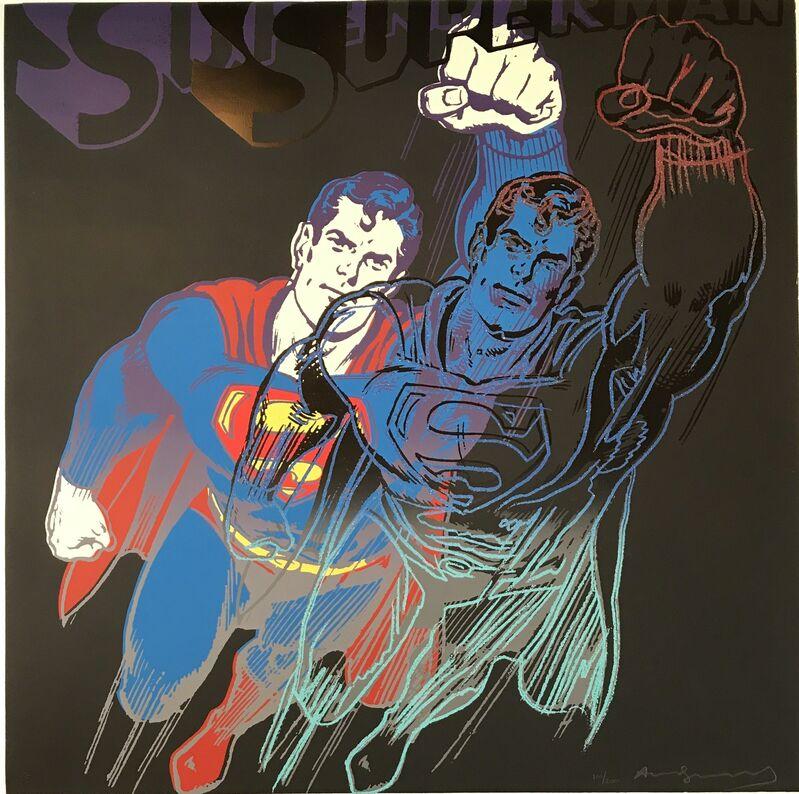 Andy Warhol, 'Superman F&S II.260', 1981, Print, Screenprint on Lenox Museum Board, Fine Art Mia