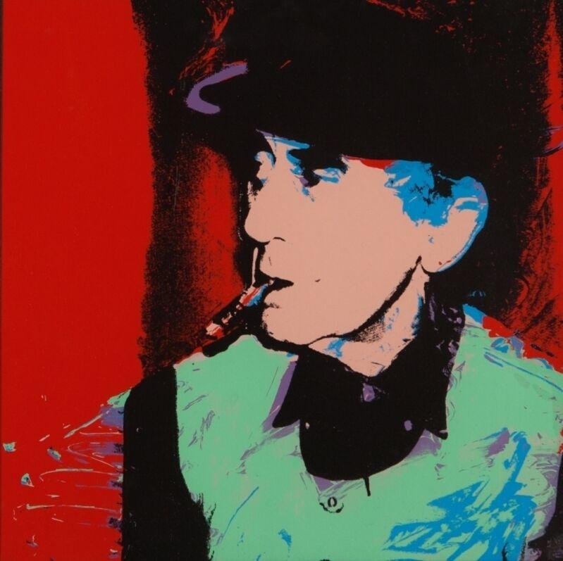 Andy Warhol, 'Man Ray', 1975, Print, Silkscreen on paper, Aste Boetto