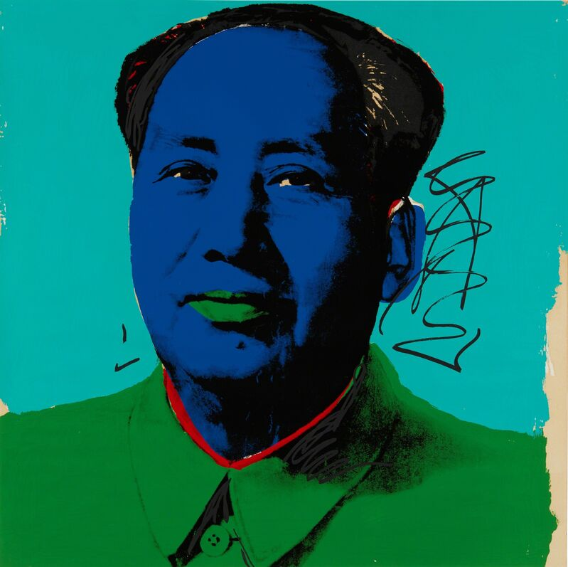 Andy Warhol, 'Mao', 1972, Print, Screenprint in colors, on Beckett High White paper, the full sheet, Phillips