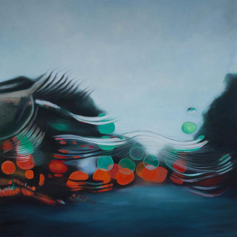 Steen Larsen, 'Singing in the Rain', 2019, Painting, Oil on canvas, GALLERI RAMFJORD