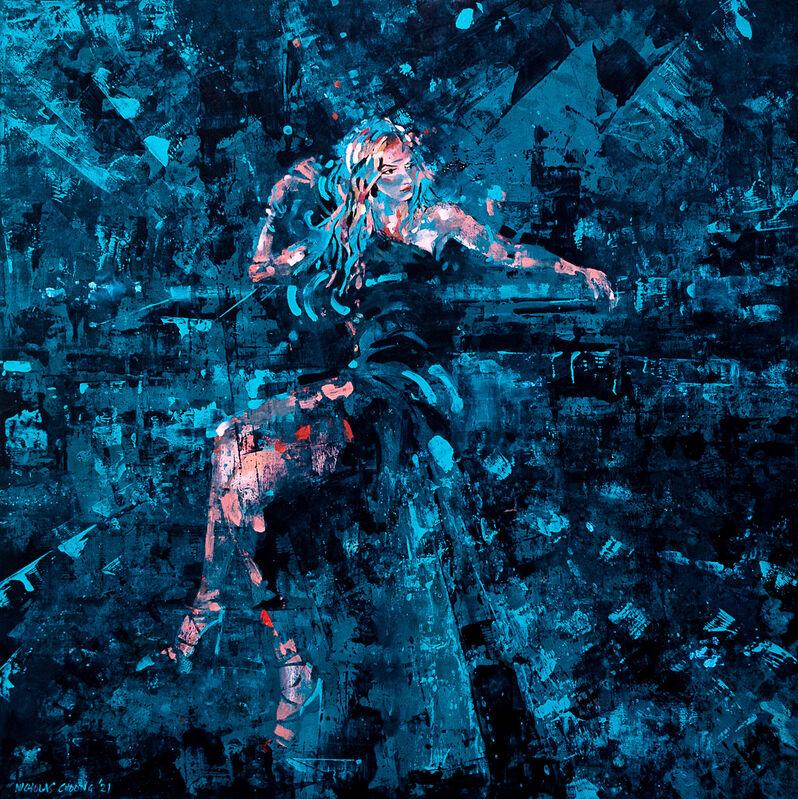 Nicolas Choong, 'Mischa', 2021, Painting, Oil on Plywood, Gallery LVS