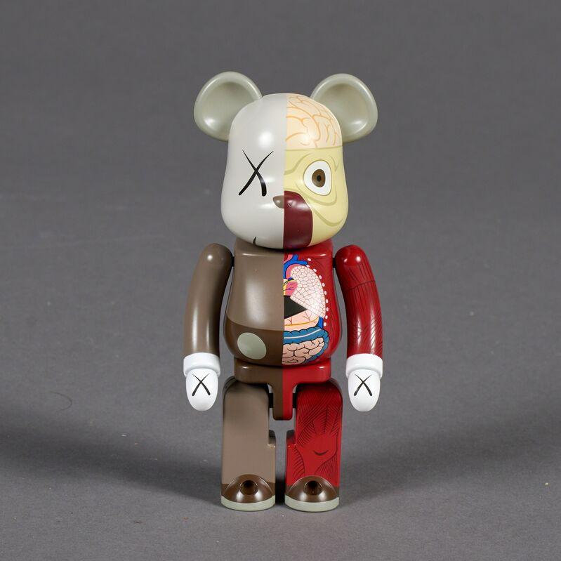 KAWS, 'Dissected Companion, 200% Bearbrick (Red)', 2010, Sculpture, Painted cast vinyl, Doyle