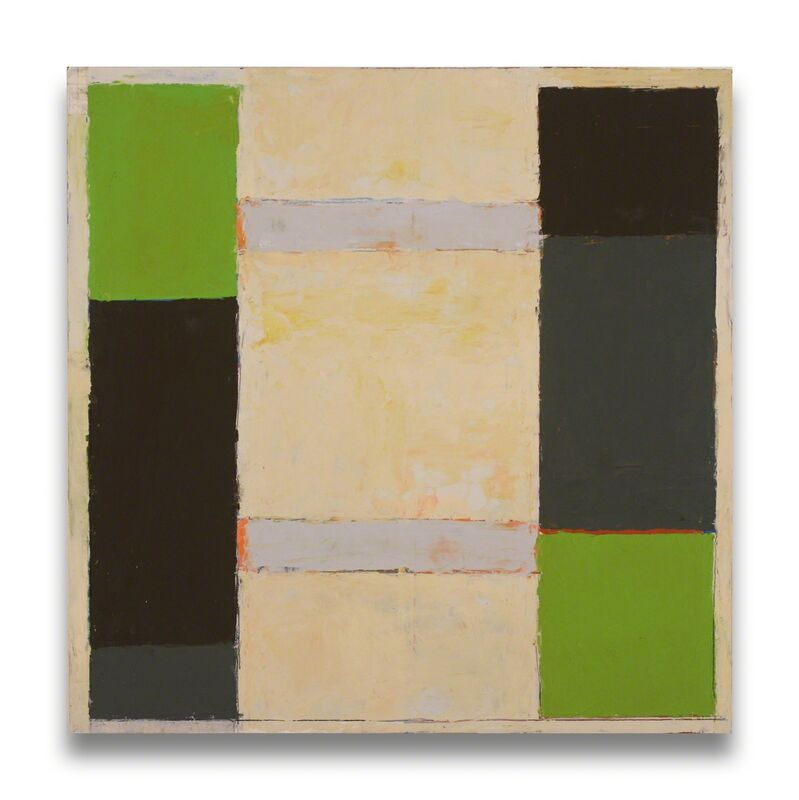 Elizabeth Gourlay, 'With lemon (Abstract painting)', 2012, Painting, Graphite and oil on panel, IdeelArt