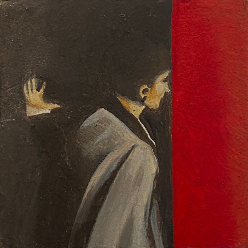 Peggy Wauters, 'Untitled M29', 2011, Painting, Oil on wood, Ro2 Art