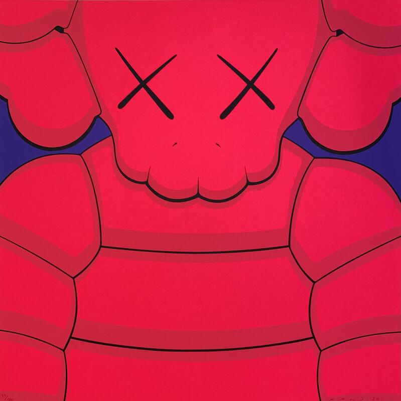 KAWS, 'What Party (Pink)', 2020, Print, Screenprint on Saunders Waterford 425gm HP hi-white, Georgetown Frame Shoppe