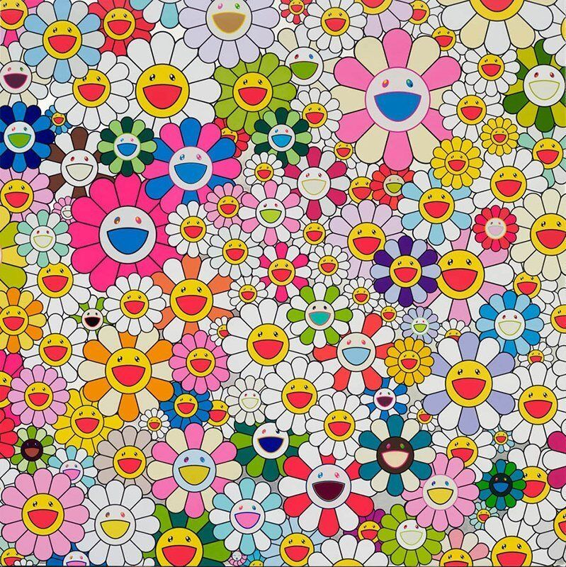 Takashi Murakami, 'Maiden in the Yellow Straw Hat', 2010, Print, Offset lithograph in colors, on wove paper, Upsilon Gallery