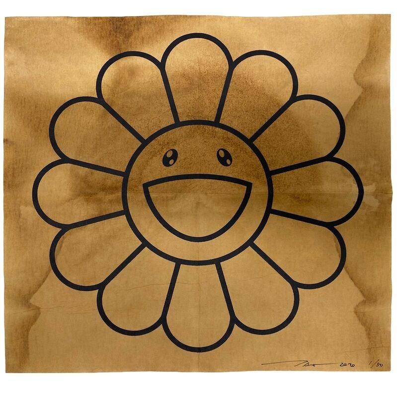 Takashi Murakami, 'COFFEE BLUES, DRIP', 2020, Print, Silkscreen on paper filter, Dope! Gallery