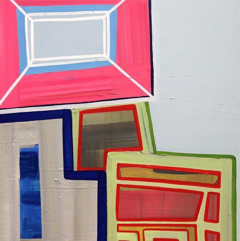 Ashlynn Browning, 'Topsy Turvy (Abstract painting)', 2015, Painting, Oil on panel, IdeelArt