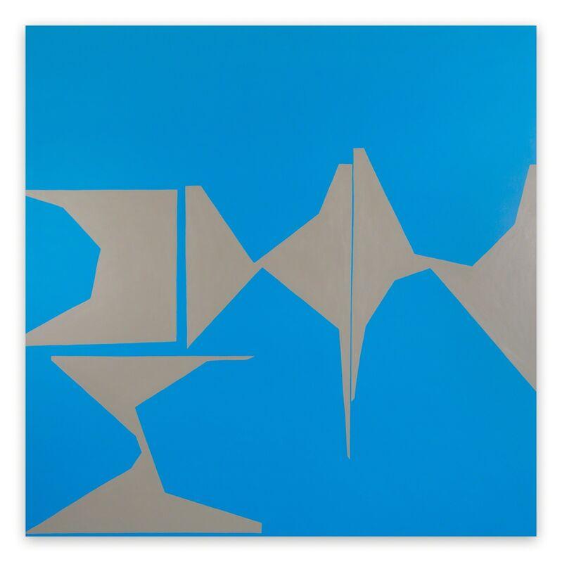 Ulla Pedersen, 'Cut-Up Canvas II.6 (Abstract painting)', 2016, Painting, Acrylic on canvas, IdeelArt