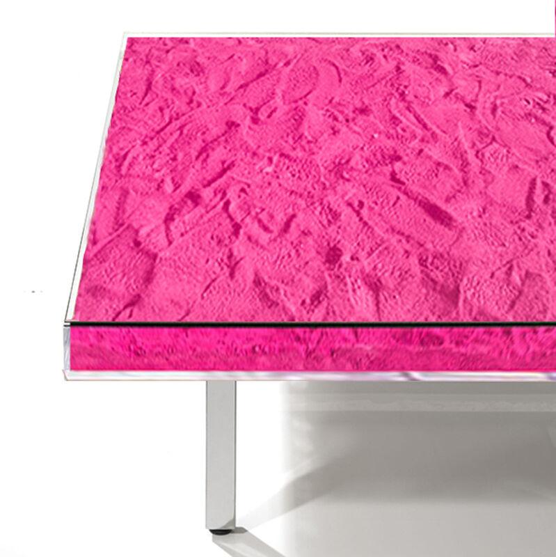 Yves Klein, 'Table Monopink™', 1963/2014, Design/Decorative Art, Rose pigment, glass, plexiglass, wood, and steel, Artware Editions