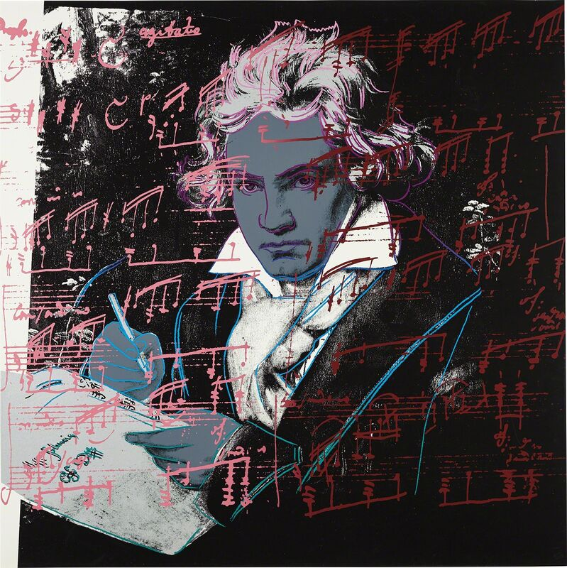 Andy Warhol, 'Beethoven', 1987, Print, Screenprint in colors, on Lenox Museum Board, the full sheet., Phillips