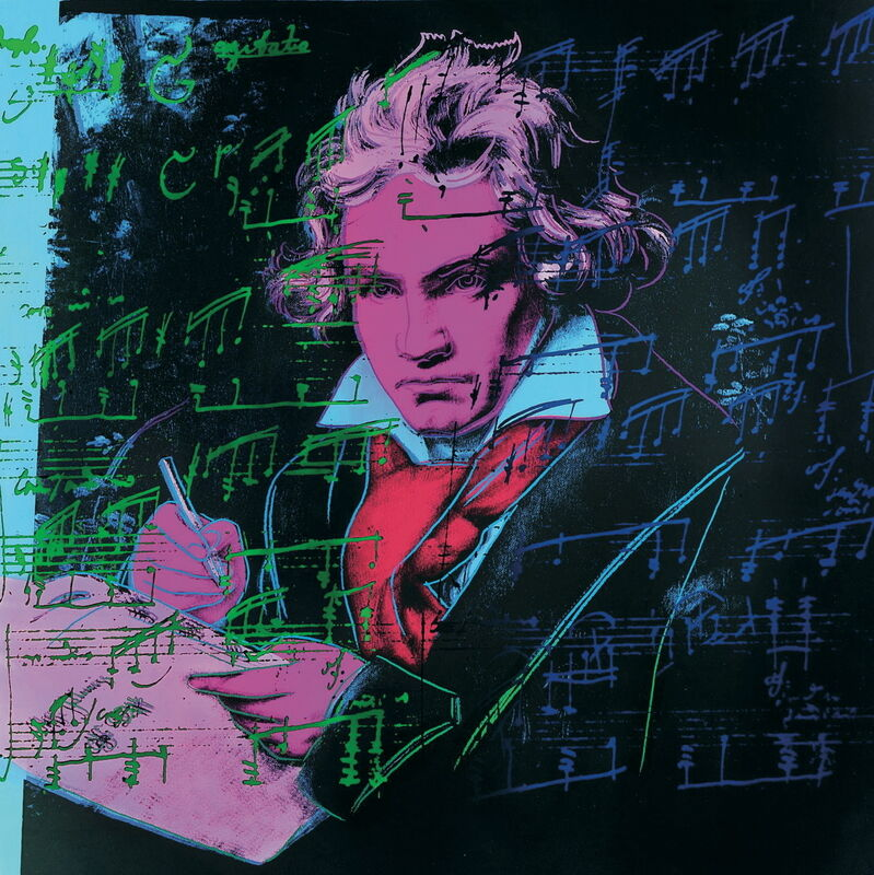 Andy Warhol, 'Beethoven Pink book-sm', 2000, Posters, Offset Lithograph, ArtWise
